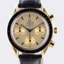 Omega Speedmaster Reduced Yellow gold 39.1mm Gold No numerals