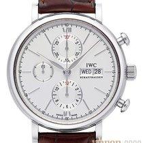 IWC Portofino Chronograph Stahl 42mm Silber Keine Ziffern Deutschland, Bietigheim-Bissingen
