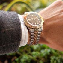 Rolex GMT-Master Gold/Stahl 40mm Bronze Keine Ziffern Schweiz, Ascona