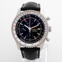 Breitling Navitimer World Steel 46mm Black No numerals United Kingdom, Kent