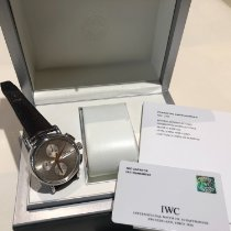 IWC Portofino Chronograph Сталь 41mm Белый