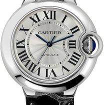 Cartier Stahl 36.6mm Automatik W69017Z4 neu