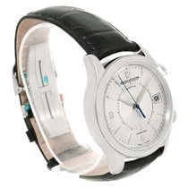 Jaeger-LeCoultre Master Memovox Silver Dial Watch 174.8.96...