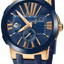 Ulysse Nardin Executive Dual Time Rose gold Blue United States of America, New York, Brooklyn