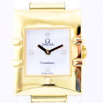 Omega Constellation Ladies Yellow gold 24mm White No numerals