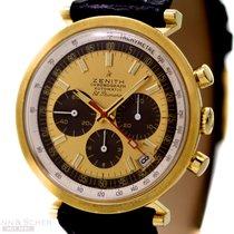 Zenith Vintage El Primero Chronograph Cal 3019 Ref - G383 18k...