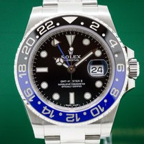 "Rolex 116710BLNR GMT Master II Ceramic Black & Blue ""Batman""..."