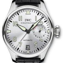 IWC Big Pilot Steel 46mm Silver Arabic numerals