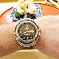 Zodiac Super Sea Wolf Watch Day Date SST 36000 HIGH BEAT Diving