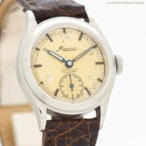 Minerva Steel 28mm Manual winding pre-owned