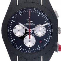 Dior Chronograph 41mm Automatik gebraucht Chiffre Rouge Schwarz