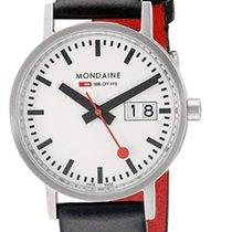 摩登 Classic 钢 33mm 白色 阿拉伯数字
