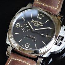 パネライ ルミノール 1950 10デイズ GMT 中古 スチール