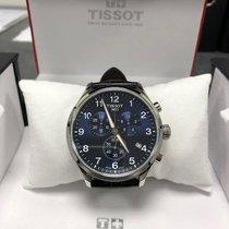 Tissot Chronograaf 45mm Quartz 2018 tweedehands T-Classic (Submodel) Blauw