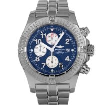 Breitling Super Avenger Steel 48mm Blue Arabic numerals United States of America, Maryland, Baltimore, MD