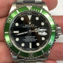 Rolex 16610LV Steel 2009 Submariner Date 41mm pre-owned United States of America, Michigan, Farmington Hills