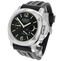 Panerai Luminor Power Reserve Steel 44mm Black United Kingdom, London