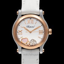 Chopard Happy Sport Rose gold 30mm White United States of America, California, San Mateo