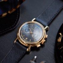 Vacheron Constantin Zuto zlato 36mm Rucno navijanje Vacheron Constantin Les Historiques Chronograph 47101/3 nov