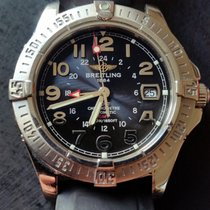 Breitling Colt GMT Acero Gris Árabes