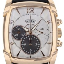 Clerc Rose gold Automatic Silver 44.2mm pre-owned