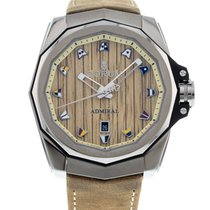 Corum Titanium Automatic Champagne 45mm pre-owned Admiral's Cup AC-One