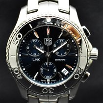 TAG Heuer Link Quartz Staal 41mm Blauw