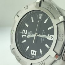 TAG Heuer 2000 Steel Black Arabic numerals United States of America, Alabama, ANNISTON