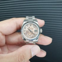 Rolex Or blanc Remontage automatique Rose 26mm nouveau Lady-Datejust