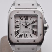 Cartier Santos 100 Steel 32mm White Roman numerals United States of America, Texas, Houston