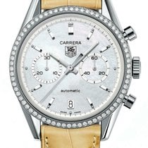 TAG Heuer Carrera Calibre 17 Steel 39mm Mother of pearl United States of America, California, Simi Valley