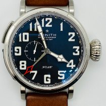 Zenith Pilot Type 20 GMT Steel 48mm Black Arabic numerals United States of America, New York, NEW YORK