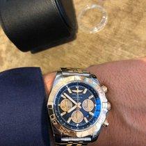 Breitling Chronomat 44 Gold/Stahl 44mm Schwarz