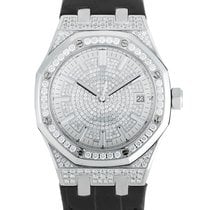 Audemars Piguet Witgoud Automatisch 37mm tweedehands Royal Oak Lady