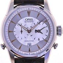 Oris Mans Automatic Wristwatch Artelier Worldtime