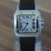 Cartier 1567 Gold/Stahl Santos Galbée 23mm gebraucht Deutschland, Niederbayern