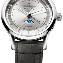 Maurice Lacroix Les Classiques Phases de Lune Steel 40mm Silver United States of America, New York, Airmont