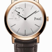 Piaget Rose gold Manual winding Silver 40mm new Altiplano