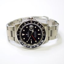 Rolex GMT Master 40mm Stainless Steel Mens Watch 16700