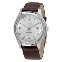 Hamilton Jazzmaster Viewmatic Leather Strap Men's Watch...