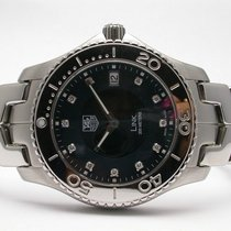 TAG Heuer Link Mens Watch Dark Blue Diamond  Dial Style...