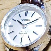 セイコー Seiko Special 23 Jewels Cocktail Watch White Gold Filled...