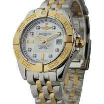 Breitling c71356L2/a712-tt Galactic 32 2-Tone in Steel with...