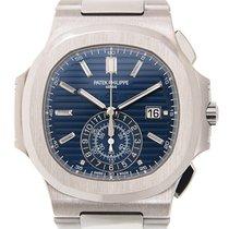 Patek Philippe Nautilus 18k White Gold Blue Automatic 5976/1G-001