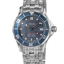 Omega 2224.80.00 Steel Seamaster Diver 300 M 28mm new
