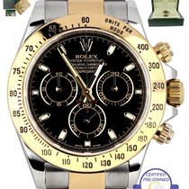 Rolex 2014 ENGRAVED Rolex Daytona Cosmograph 116523 Black 40mm...