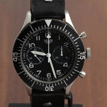 Heuer 1550 SG Very good Steel 43mm Manual winding