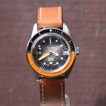 Squale Vintage Diver Orange/Black bezel 30 meter Nos condition