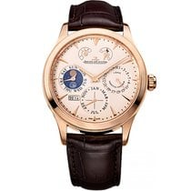 Jaeger-LeCoultre Master Eight Days Perpetual pre-owned 40mm Rose gold