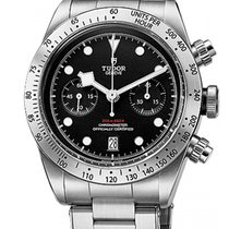 Tudor Black Bay Chrono новые 41mm Сталь